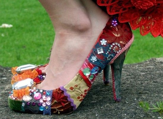 Идеи декора обуви