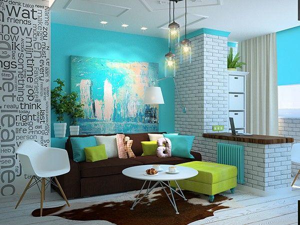 Дизайн одокомнатной квартиры
