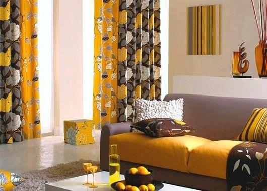 Идеи интерьера с ярким текстилем