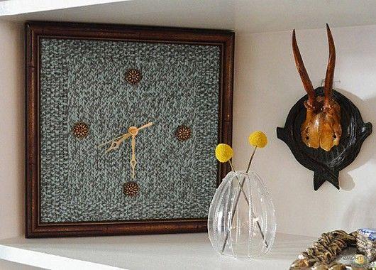 Идеи интерьера с вязаным декором