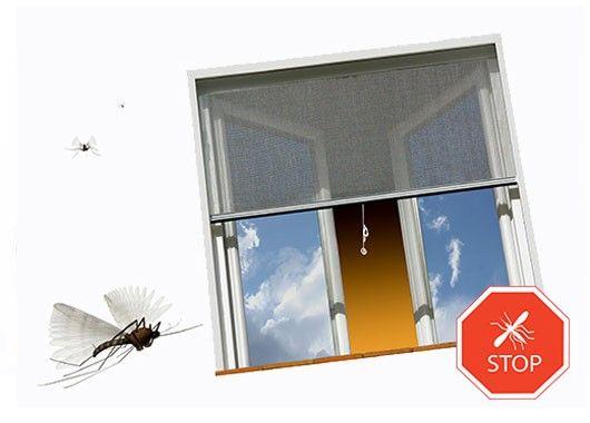 Основное средство – москитные сетки, которые предлагают сейчас все производители окон. Чем мельче ячейки, тем сильнее ваша защита от комаров.