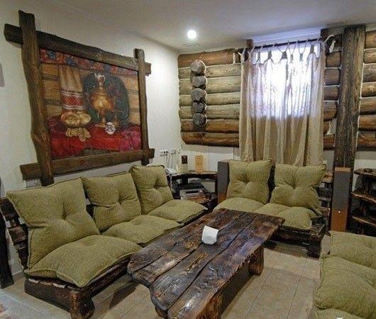 Мебель ручной работы в интерьере