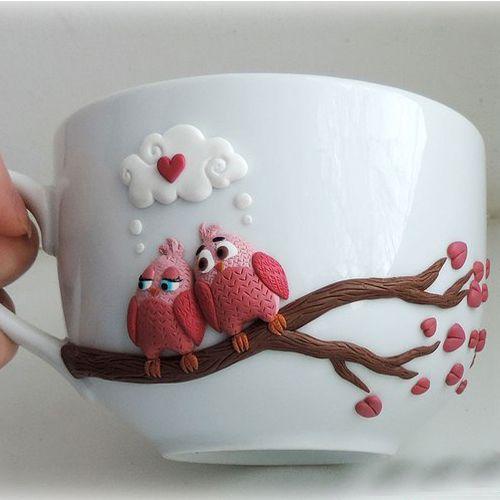 Идеи декора чашек