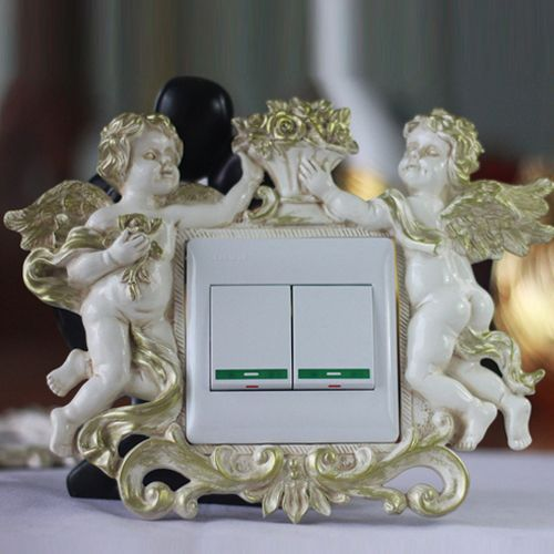 Идеи декора розеток и выключателей