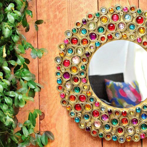 Идеи декора зеркала