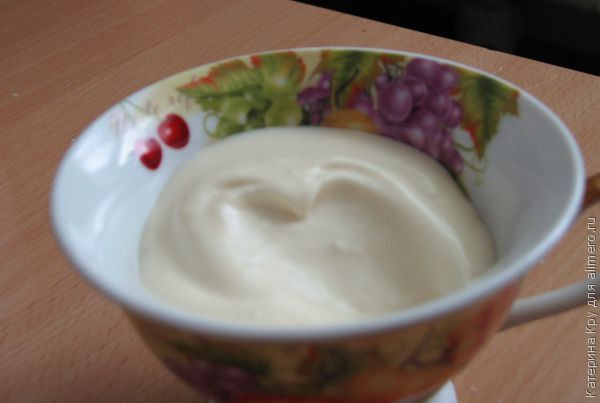 Майонез в домашних условиях рецепт с молоком и яйцом