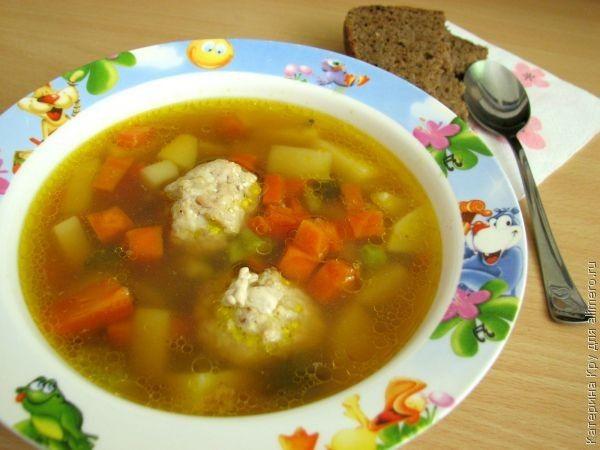 суп клецки с мясом рецепт