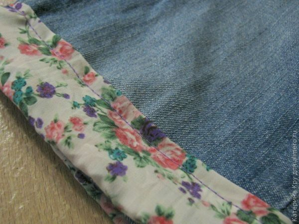 Как сделать из джинсы шортики