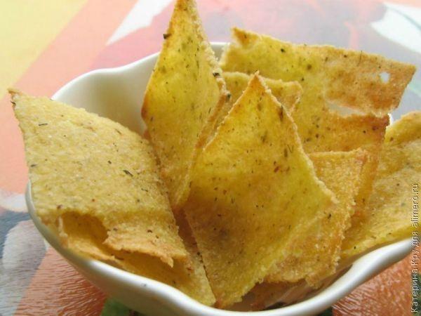 Как сделать чипсы рецепт