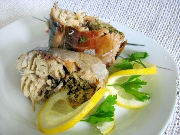 Рецепт приготовления рыбы скумбрии в духовке 3