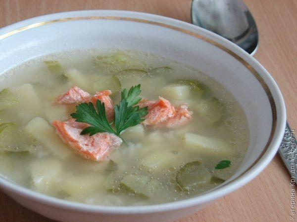 Рецепт супов из семги для мультиварки