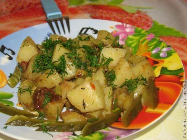 Рагу из молодого картофеля