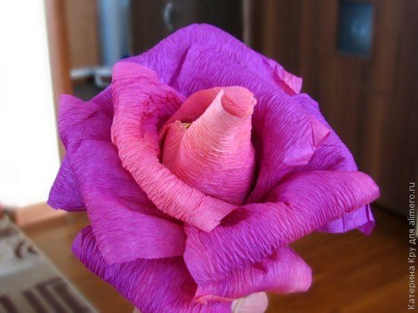 МК. Букет роз из конфет