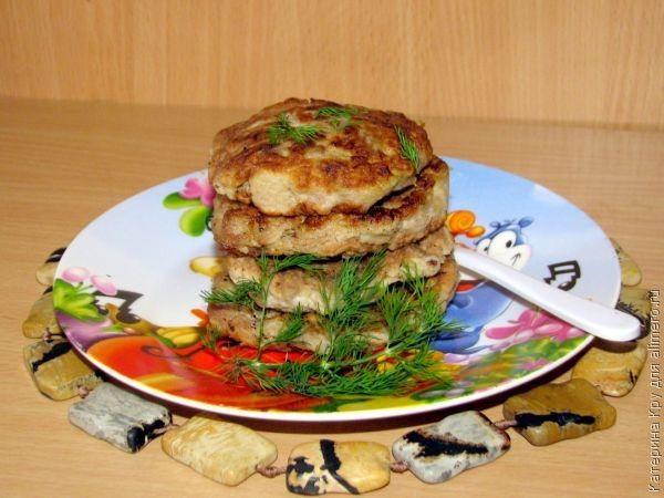 Кабачково-мясные оладьи