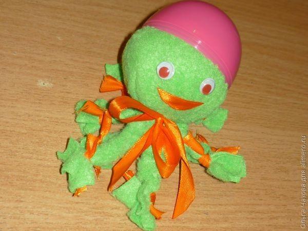 Поделка игрушка с ребенком