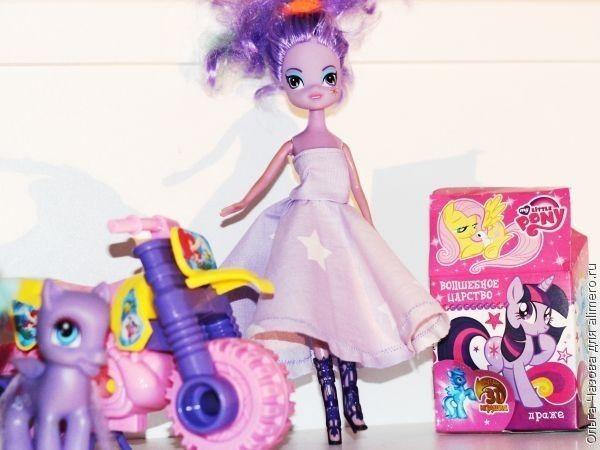 Платье для куколки Твайлет из Эквестрии гелс