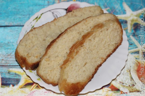 Рецепт хлеба в мультиварке с сухими дрожжами