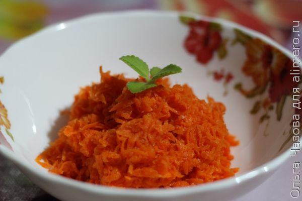 Морковь по корейски рецепт с фото с курицей