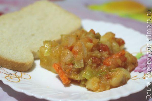 вегетарианский рецепт капуста в духовке