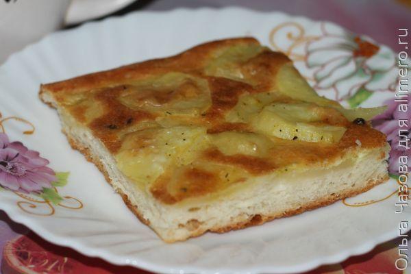 Начинка картофельная для открытых пирогов