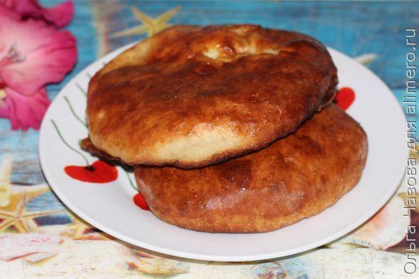 Осетинский пирог с картофелем и сыром Картофчин