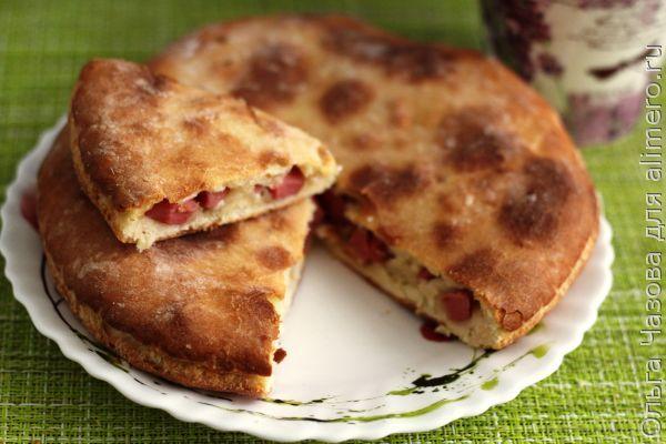 Пироги на кефирном тесте