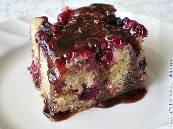 рецепт ягодные пирожные