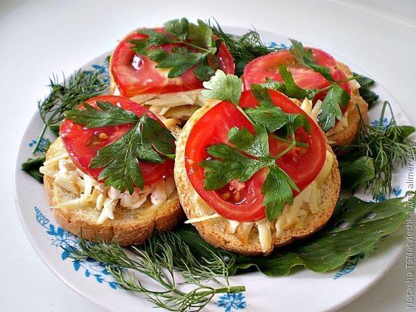 бутерброды с хлебцы рецепт