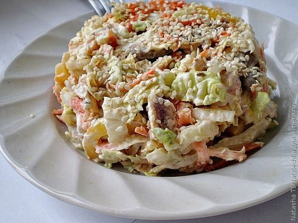 блинный торт с курицей и грибами рецепт с фото