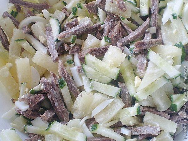 рецепты салатов с фото со сладкой кукурузой