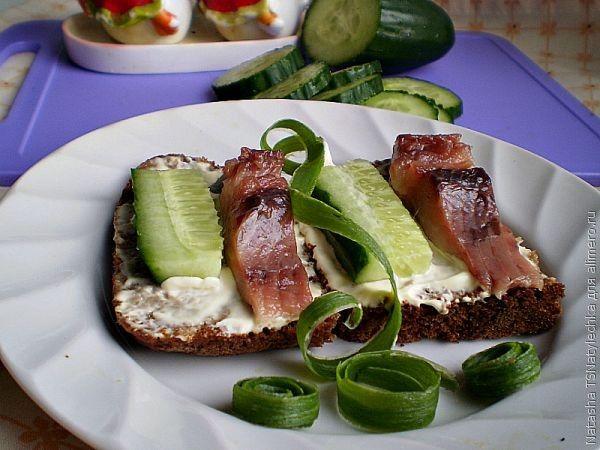 Закуски, бутерброды