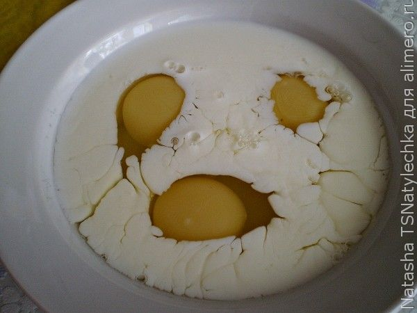 Омлет, блюда из яиц