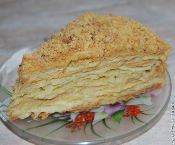 торт наполеон рецепт как в детстве