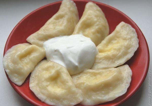 рецепт вареники с домашнем творогом