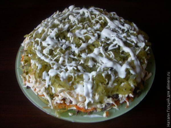 Салат из индюшиной печени - 12