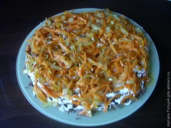 Салат из индюшиной печени - 7