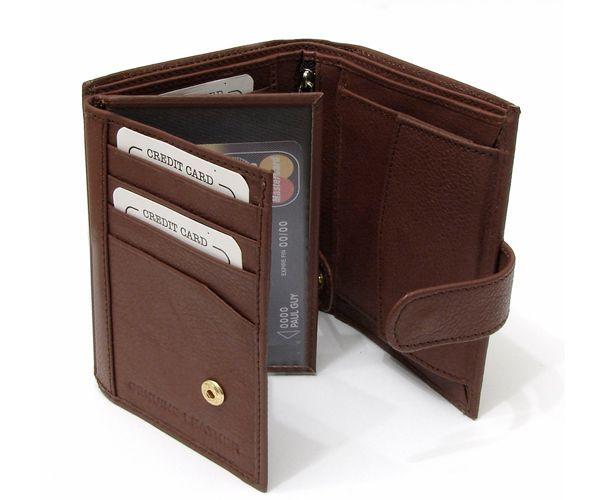 Кожаный кошелек - это беспроигрышный вариант подарка человеку, чьи вкусы вы хорошо знаете. Мужчинам нравятся солидные вещи.