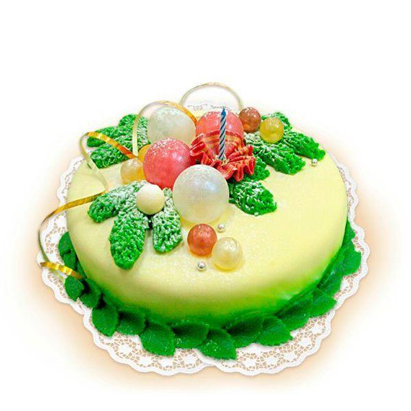 Кроме того, что во время покрытия торта тонко раскатанная мастика может порваться, под тонко раскатанной мастикой видны все неровности основания торта.