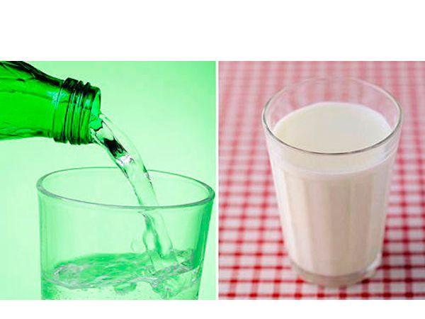 Великолепным средством от сильного кашля может стать питье горячего молока с добавлением в него боржоми (1 стакан молока, пол стакана боржоми).