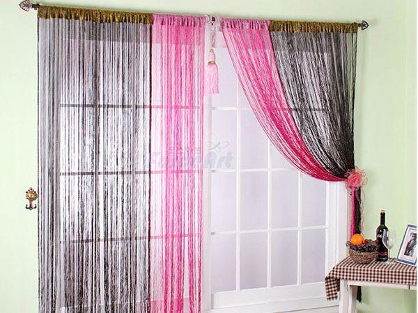 Выбирая нитяные шторы, следите, чтобы стиль интерьера им соответствовал. Скажем, шторы нити в интерьере классического направления не вполне уместны, тогда как они отлично гармонируют с хай-теком и модерном.