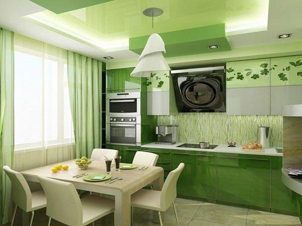 Занавески, скатерти и диванные подушки кораллового, изумрудного, вишневого цветов изменят кухню до неузнаваемости.