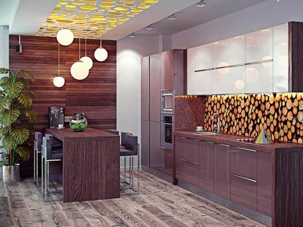Сочетайте дерево с чем угодно – кожей, стеклом, инкрустируйте, комбинируйте с металлическими элементами. Это универсальный материал, одинаково успешно работающий как сольно, так и в компании.