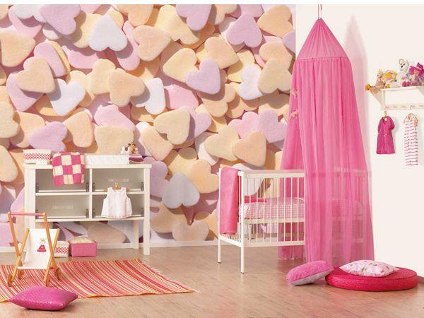 Можно украсить стену композицией из объемных фигур. Вырезать их можно из пенопласта после чего раскрасить по вашему вкусу. таким образом можно украсить стены в любой комнате.