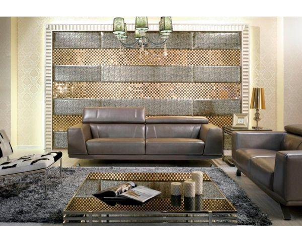 Для того чтобы сделать предмет интерьера эксклюзивным и неповторимым, дизайнеры пользуются различными приемами. Например, сочетание разных по текстуре материалов. Очень эффектно смотрится кожа в интерьере в сочетание со стеклом, деревом или металлом.