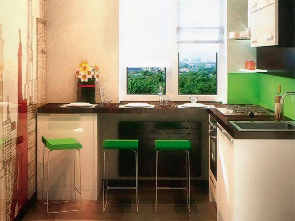 Обратите внимание, что подоконник-барная стойка может служить лишь дополнением к существующему обеденному столу и стульям. Барную стойку удобно использовать для утреннего кофе или перекуса в течение дня, в остальное время можно использовать площадь подоконника в качестве рабочей поверхности.