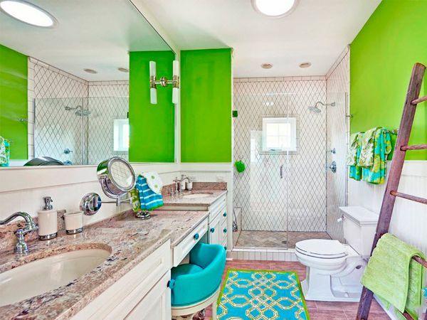 Зеленый цвет очень приятно воспринимается. Он ассоциируется с весной, гармонией и свежестью. Этот цвет может играть роль как основы, так и вспомогательного оттенка.