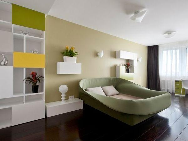 29 необычных интерьеров спальни