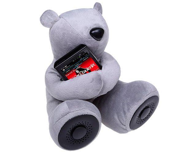 Колонки плюшевого медвежонка - прекрасный подарок мечтательной особе.