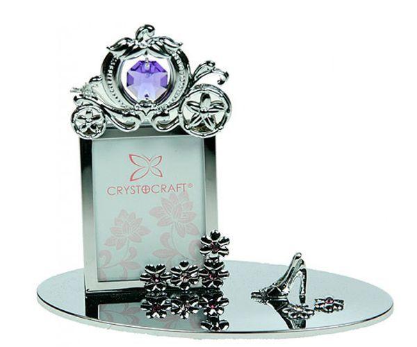 Фоторамка с кристаллом Сваровски - отличный подарок для каждой девушки!