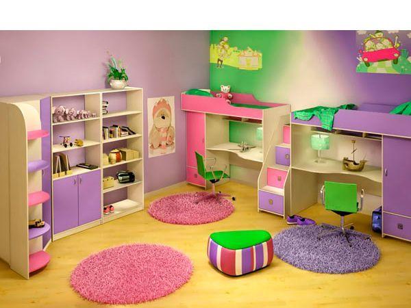 27 идей ярких детских комнат